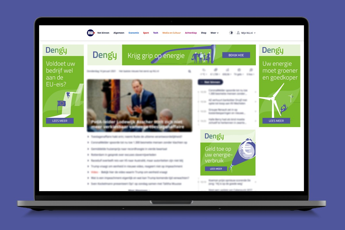 Display advertising for Dengy
